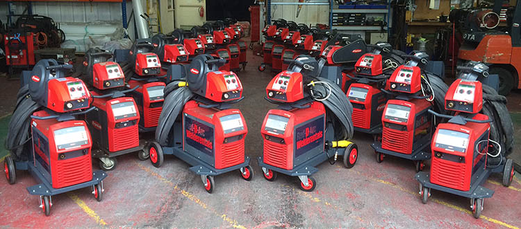 Lease Your Core Fleet of Welding Equipment