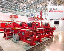 Schweissen-Schneiden-Tradeshow-Weld-Automation-Display