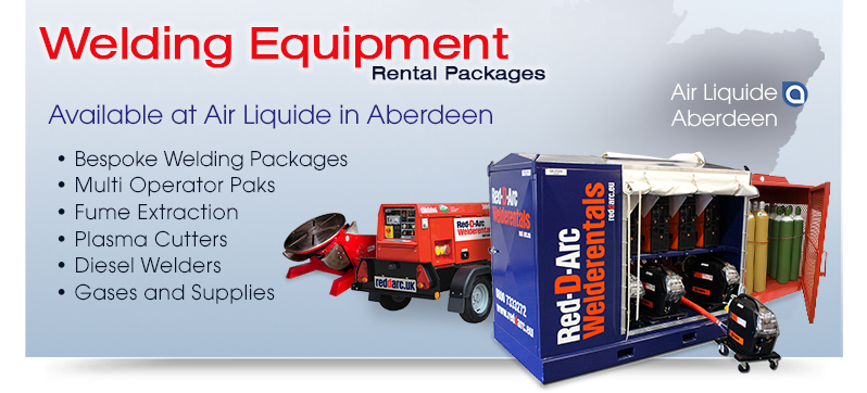 Welding Equipment Rentals Aberdeen