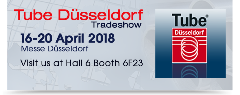 Tube Dusseldorf Tradeshow Announcement