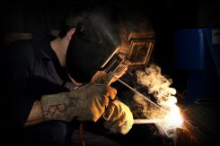 welder in need of a smoke extractor